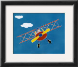Cat in a Plane II Prints by Shelly Rasche