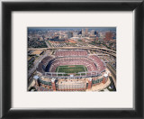 Baltimore - First Game at Raven Stadium at Camden Yards Print by Mike Smith
