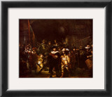 Night Watch Prints by  Rembrandt van Rijn