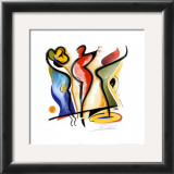 Dancing Prints by Alfred Gockel