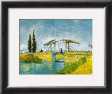 Die Brucke von Lang Posters by Vincent van Gogh