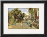 The Artist's House Prints by Claude Monet