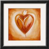 Shades of Love: Chocolate Print by Alfred Gockel