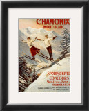 Chamonix, Mont Blanc Prints by Francisco Tamagno