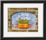 Rustic Bouquets II Print by C. Potter