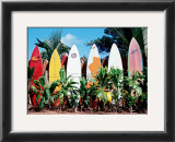 Old Surfboards Never Die Posters by Bernard Fickert