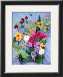 Island Floral Prints by Warren Rapozo