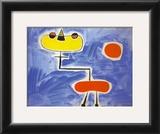 Figur Vor Roter Sonne Prints by Joan Miró