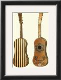 Antique Guitars II Art by William Gibb