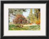The Park at Monceau Posters by Claude Monet