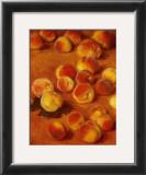 Peaches Art by Claude Monet