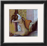 After the Bath Prints by Edgar Degas