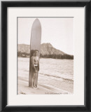 Duke with Surfboard Prints
