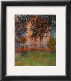 The House at Argenteuil Prints by Claude Monet