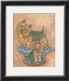 Terriers Prints by Carol Ican