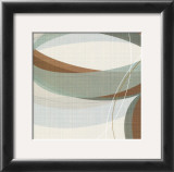 Mint Ripple III Prints by  Ahava