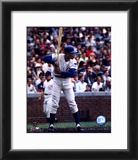 Ernie Banks - Batting Stance Framed Photographic Print