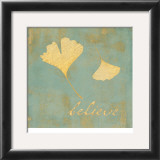 Ginkgo Inspiration Poster by Booker Morey