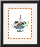 Ice Cream Parlor IV Posters by Virginia A. Roper