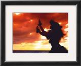 Hula Sunset Poster by Randy Jay Braun