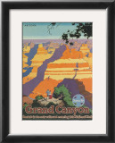 Santa Fe Railroad: Grand Canyon National Park, Arizona Posters by Oscar M. Bryn