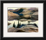 Mirror Lake Print by Franklin Carmichael