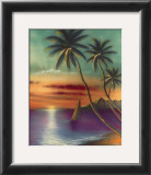 Diamond Head Sunset Posters by  Mokihana