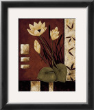Lotus Silhouette I Prints by Krista Sewell