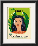 Aloha Hawaii Art by Edward McKnight Kauffer