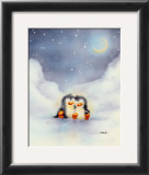 Little Penguins Art by  Makiko