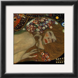 Serpentes d'Água II, c.1907 (detalhe) Poster por Gustav Klimt