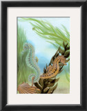 Seahorse Serenade IV Art by Charles Swinford