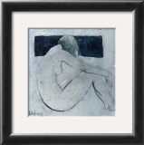 Studies from the Nude II Print by Heleen Vriesendorp