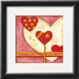 Pop Hearts IV Art by Nancy Slocum