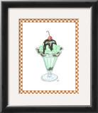 Ice Cream Parlor III Art by Virginia A. Roper