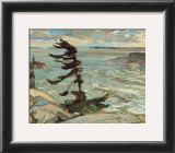 Stormy Weather, Georgian Bay Print by Frederick Varley