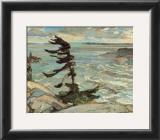 Stormy Weather, Georgian Bay Print by Frederick Varley