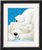 Fluffy Bears II Poster by Alison Edgson