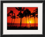 Hawaiian Sunset Prints by Randy Jay Braun