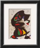 Aufrechte Figur Prints by Joan Miró