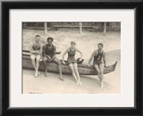 Duke Kahanamoku on Outrigger Canoe Posters