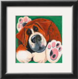 Buster Art Print by Kate Mawdsley