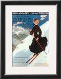 Chamonix, Sports d`Hiver Poster by Abel Faivre