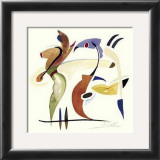 Fishing in the Abstract Art by Alfred Gockel