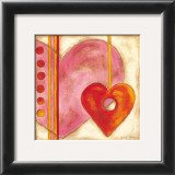 Pop Hearts III Poster by Nancy Slocum
