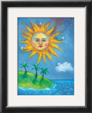 The Sun Poster by Nichola Moss