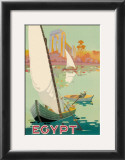 Egyptian State Tourist Department Prints by H. Hashim