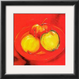 Apple Platter Prints by Alfred Gockel