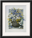 Colourful Basket Print by Katharina Schottler