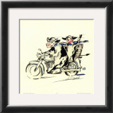 Fat Boys on Tour Print by Alfred Gockel